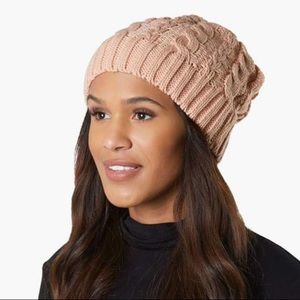 Women's 🛍 Cable Knit Soft Slouchy Beanie Hat🎁NEW